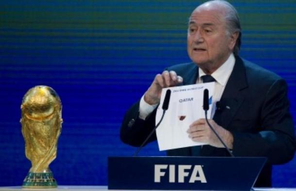 Blatter anuncia Qatar como sede da Copa de 2022