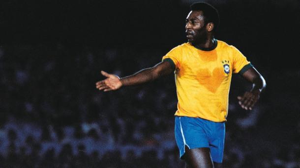 O coração do Rei Pelé (Foto: Luiz Paulo Machado/Placar)