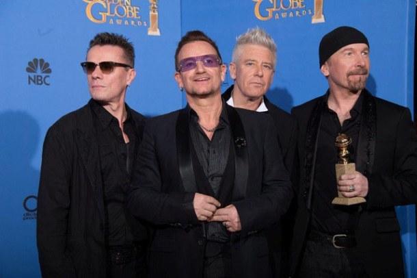 """U2 ganha o Globo de Ouro por """"Ordinary Love"""""""