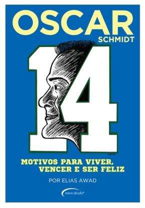 Livro sobre trajetória de Oscar Schmidt é lançado em SãoPaulo