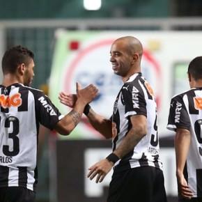 Atlético-MG x Santos, um dos melhores jogos deste Brasileirão2014