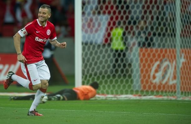 D'Alessandro marcou um dos gols do Internacional contra o Criciúma (Foto: Internacional)