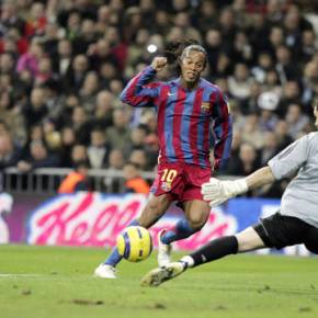 O Bernabéu já se rendeu uma vez a um craque doBarcelona