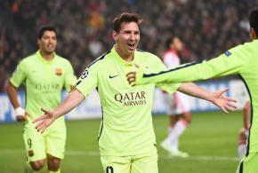 Messi, o maior artilheiro da ChampionsLeague