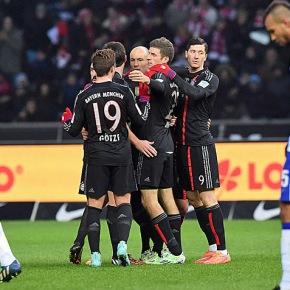 A tranquila caminhada do Bayern naAlemanha