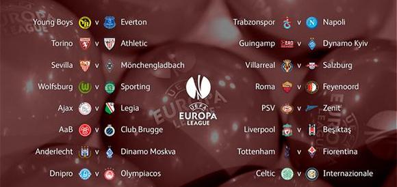 Reprodução Twitter Uefa Europa League