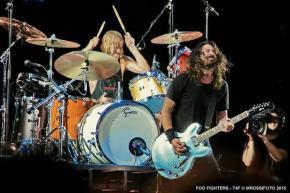 Foo Fighters e o seu grande rock de arena