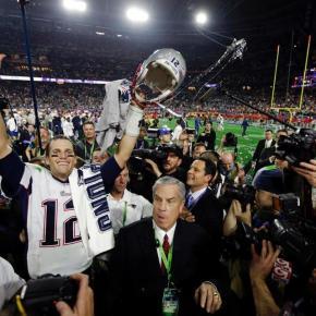 Patriots, o campeão do século XXI do futebolamericano