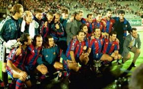 Turma de 1996/1997 do Barcelona viva na Champions League2014/2015