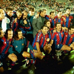 Turma de 1996/1997 do Barcelona viva na Champions League 2014/2015