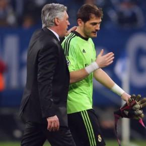 Post Patrocinado: Ancelotti sobre a possivel saida de IkerCasillas