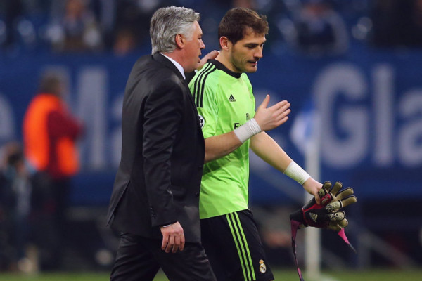 Ancelotti-Casillas