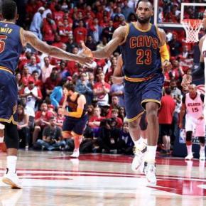 LeBron quebra recorde de Jordan e Cavs saem na frente nas finais do Leste naNBA