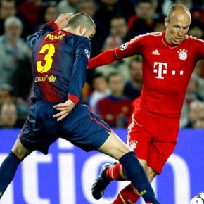 Há dois anos, Bayern de Munique destruía o Barcelona numa semifinal deChampions