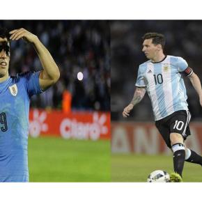 Messi e Suárez impulsionam Argentina e Uruguai nasEliminatórias